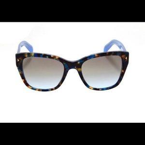 Prada blue tortoise shell sunglasses 💯 Authentic